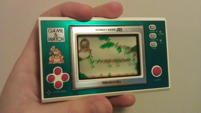 Momen Penting di Dunia Game - Game & Watch
