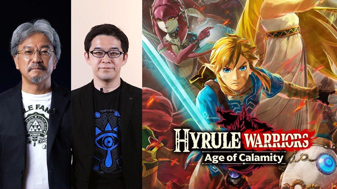 Gambar Dari Zelda Musou Kembali Dengan Hyrule Warriors Age Of Calamity 1 1
