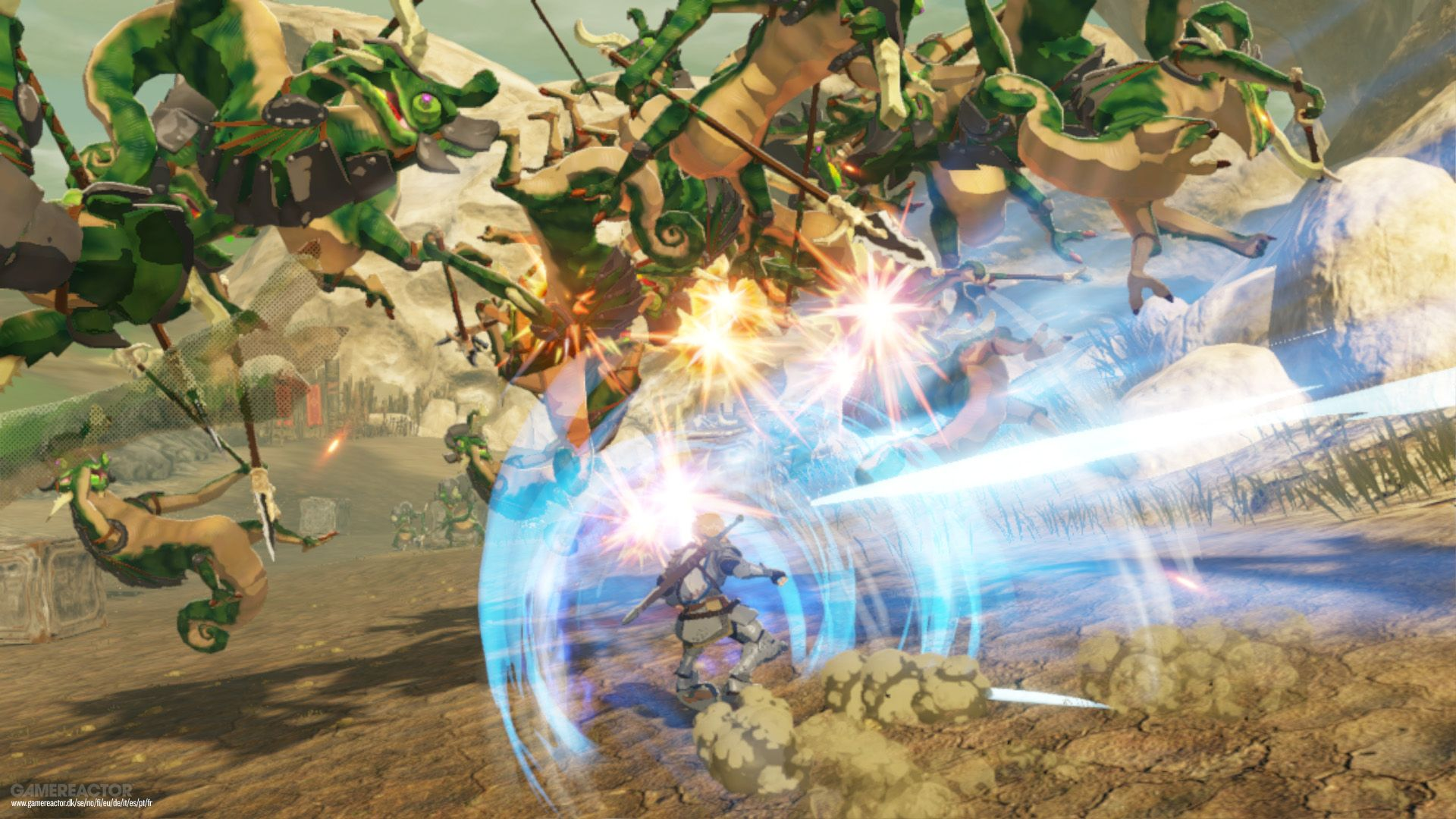 Hyrule Warriors Age Of Calamity Review Gamereactor