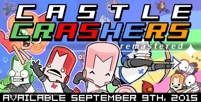 Castle Crashers Remastered menuju PS4 dan Switch