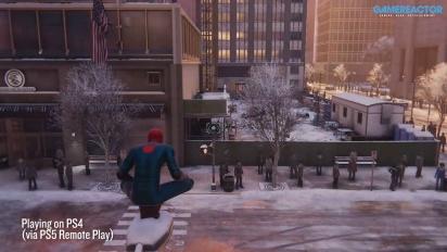 Spider-Man: Miles Morales - Streaming dari PS5 ke PS4 Menggunakan Remote Play