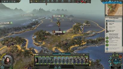 Total War: Warhammer II - Alith Anar Gameplay
