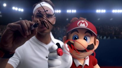 Mario Tennis Aces - Aces of the Game Trailer with Rafa Nadal