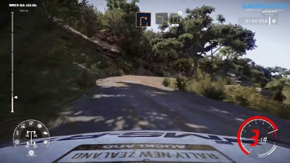 WRC 9 - Rally New Zealand: Gameplay: Te Hutewai Stage