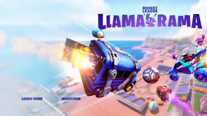 Rocket League - Llama-Rama Event Trailer