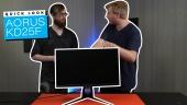 Aorus KD25F Gaming Monitor - Quick Look