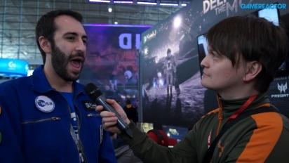 Deliver Us The Moon - Jordy Velasquez Interview