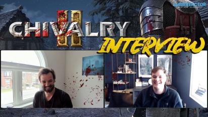 Chivalry 2 - Wawancara Steve Piggott & Rasmus Löfström