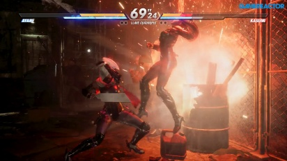 Dead or Alive 6 - Gameplay Ayane vs. Kasumi