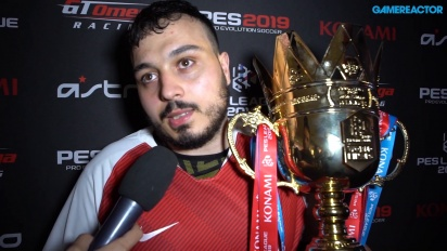 PES League World Finals 2019 - Wawancara Juara Usmakabyle