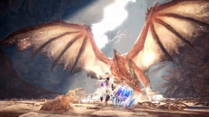 Monster Hunter World: Iceborne - Safi'jiiva Siege Trailer