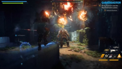 Anthem - Gameplay Demo Saving Matthias di PC