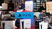 PS5 Launch - Para editor menerima konsolnya