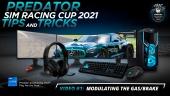 Acer Predator Sim Racing Cup - Predator Sim Racing Cup 2021 - Video #1:  Modulating the Gas/Brake