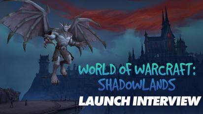 World of Warcraft: Shadowlands - Wawancara Peluncuran bersama Patrick Dawson & Sarah Verrall