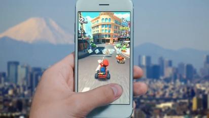Mario Kart Tour - Race Around the World Trailer