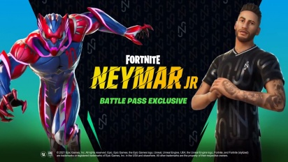 Fortnite - Cinematic Neymar Jr Outfit Reveal