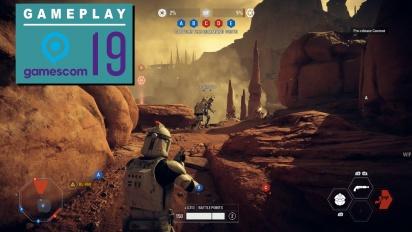 Star Wars: Battlefront II - Instant Action Gameplay di Geonosis