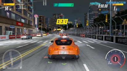 Project Cars 3 - Toyota Supra GR (road car) di Shanghai Henan Loop