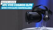 HTC Vive Cosmos Elite dengan Vive Elite Controllers - Quick Look
