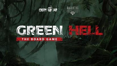Green Hell: The Board Game - Kickstarter Trailer