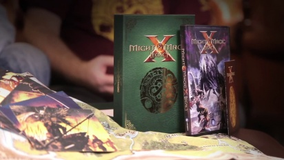 Might & Magic X: Legacy - Deluxe Box & Release Date Dev Diary