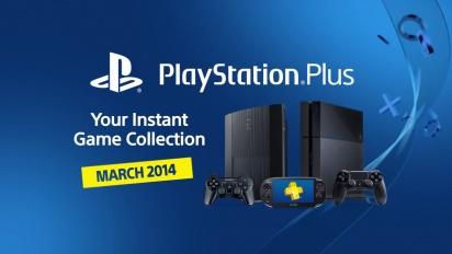 Playstation Plus - March 2014
