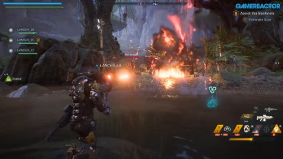 Anthem - Gameplay: Assisting Sentinels