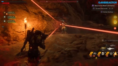 Anthem - Gameplay: Secure the Nest Bagian 1