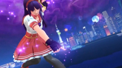 King of Fighters XIV - Story Demo Trailer