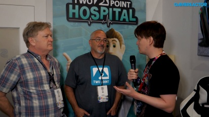 Two Point Hospital - Wawancara Gary Carr & Mark Webley