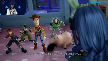 Kingdom Hearts III - TGS 18 Gameplay PlayStation Live