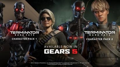 Gears 5 - Terminator Dark Fate Character Packs Trailer