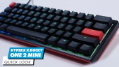 HyperX x Ducky One 2 Mini Mechanical Gaming Keyboard - Quick Look