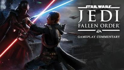 Star Wars Jedi: Fallen Order - Gameplay dengan Komentar