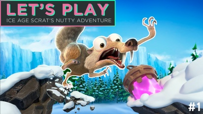 Let's Play Ice Age: Scrat's Nutty Adventure - Episode 1