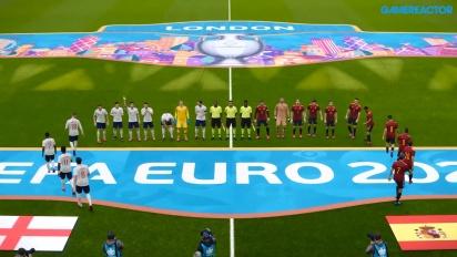 eFootball PES 2020 - UEFA Euro 2020 Inggris vs Spanyol