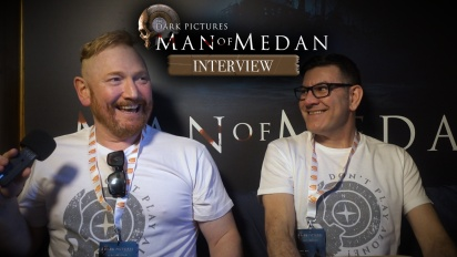 The Dark Pictures Anthology: Man of Medan - Wawancara Pete Samuels dan Gareth Betts