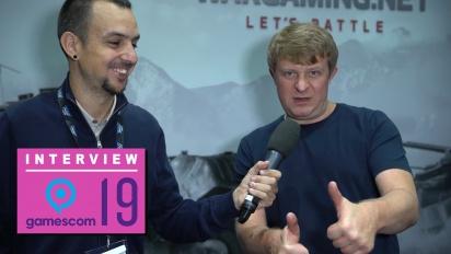 Wargaming - Wawancara Victor Kislyi di Gamescom 2019