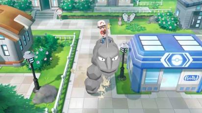 Pokémon: Let's Go Pikachu!/Let's Go Eevee! - Onyx Follower Clip
