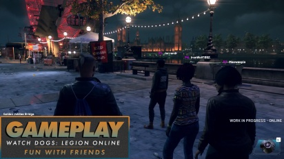 Watch Dogs: Legion Online - Gameplay