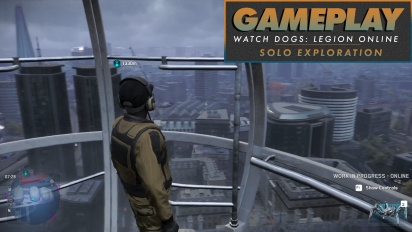 Watch Dogs: Legion Online - Gameplay (Eksplorasi Solo)