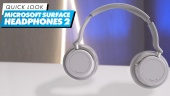 Microsoft Surface Headphones 2 - Quick Look