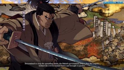 Samurai Shodown - Gameplay: Jubei Yagyu Story