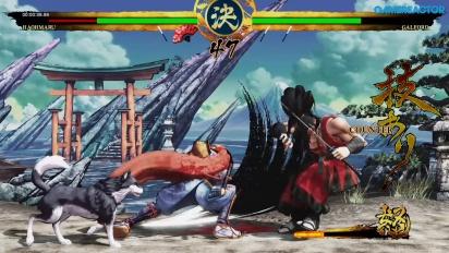 Samurai Shodown - Gameplay: Haohmaru Story
