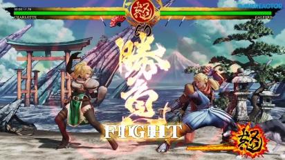 Samurai Shodown - Gameplay: Charlotte Story