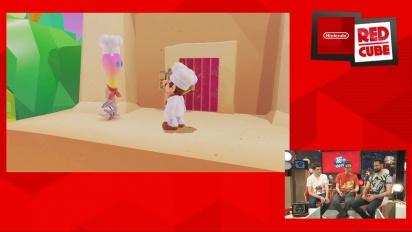 Super Mario Odyssey - Luncheon Kingdom Gamescom Gameplay