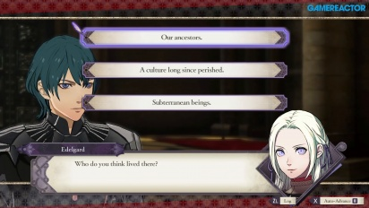 Fire Emblem: Three Houses - Gameplay Percakapan