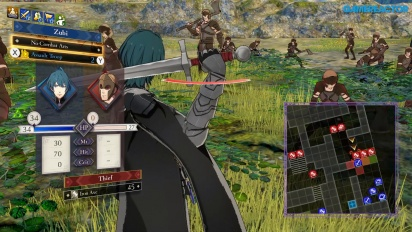 Fire Emblem: Three Houses - Gameplay Pertarungan