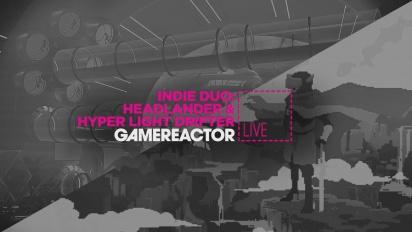 Indie Duo: Headlander & Hyper Light Drifter -  Livestream Replay